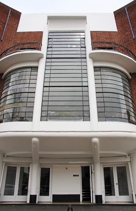 Acton Art Deco cinema building