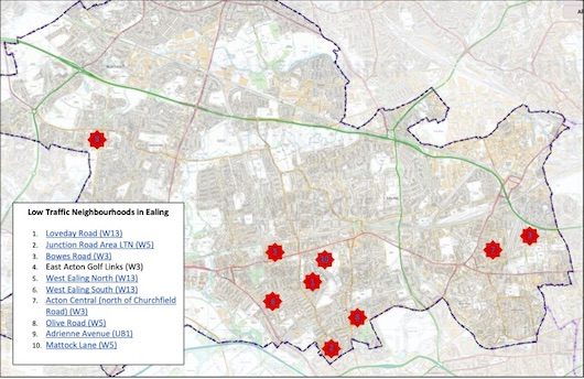 Experimental LTNs in Ealing: Why Can't the Council Communicate Better?